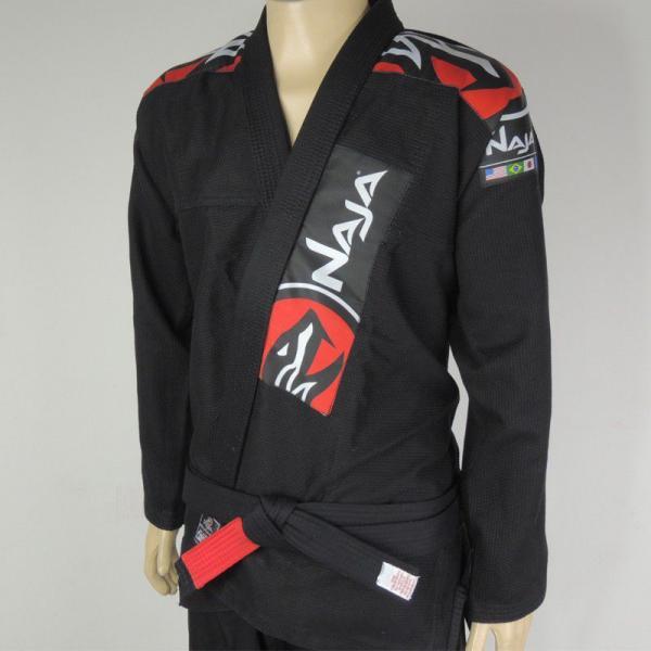 Kimono Jiu Jitsu - Extreme - Trancado - Naja - Preto -
