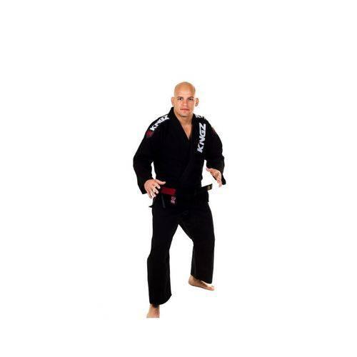 Kimono Jiu Jitsu Kingz Ultra Light Preto
