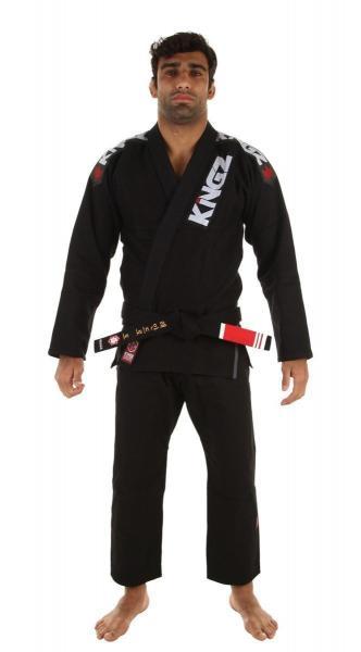 Kimono Jiu Jitsu Kingz Ultralight Preto
