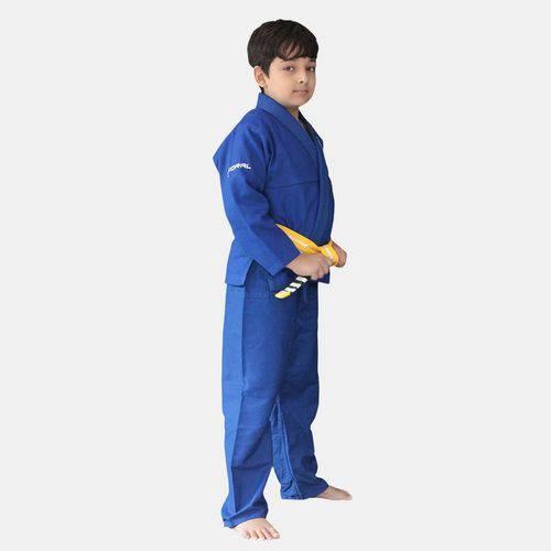 Tudo sobre 'Kimono Jiu Jitsu Koral Infantil Trançado Azul'