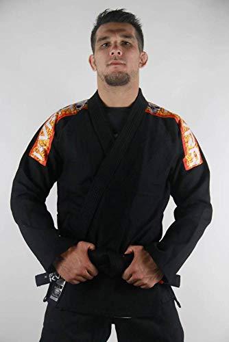Kimono Jiu Jitsu KVRA Sensei Preto-A3