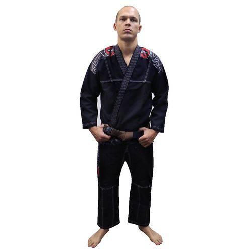 Kimono Jiu Jitsu Training - Naja - PRETO - A0