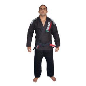 Kimono Jiu-Jitsu Xtra-Lite - A0 - Preto