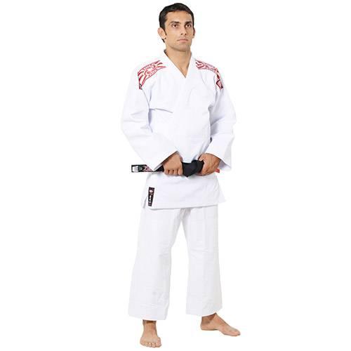 Tudo sobre 'Kimono Judo Trançado Serie Prata Brco A6'