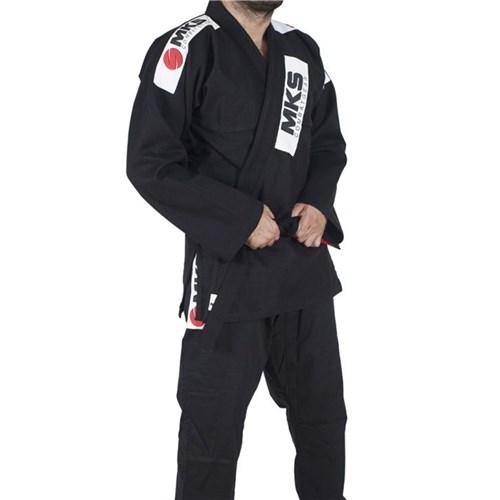 Kimono Mks Jiu Jitsu Preto