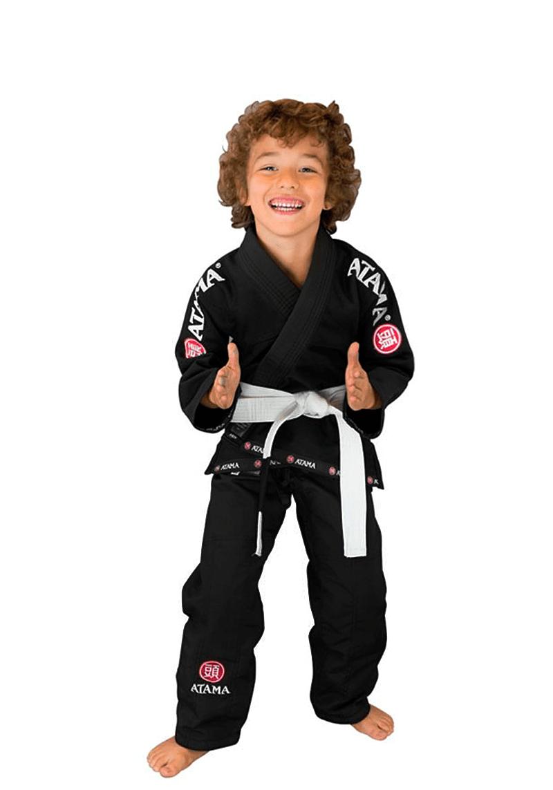 Kimono Mundial Jiu-jitsu Inf. - Preto
