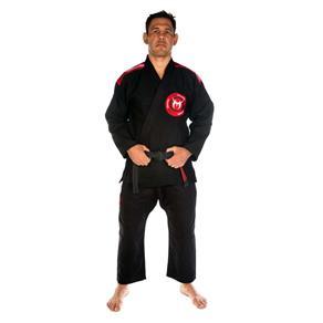 Kimono Team Nogueria Jiu Jitsu - Preto - A4
