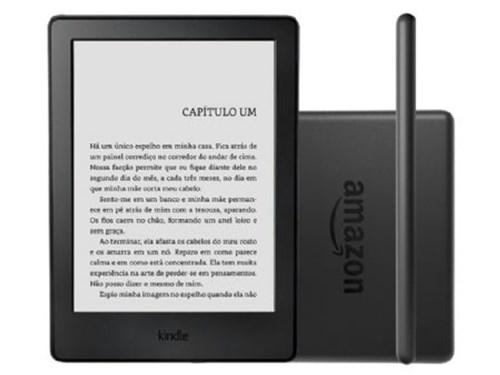 Tudo sobre 'Kindle 8ª Geração Amazon, Preto, Tela de 6, Wi-Fi, 4Gb'