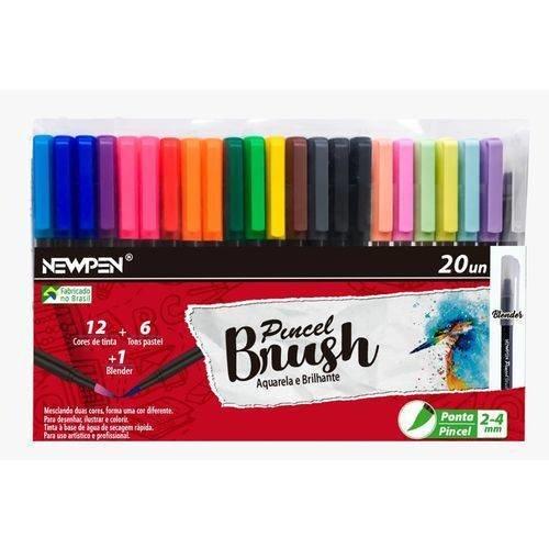 Tudo sobre 'Kit de Pincel Brush com 20 Unidades'