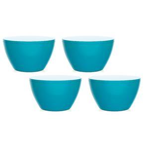 Kit 4 Banquetas Oxy - Azul Petróleo