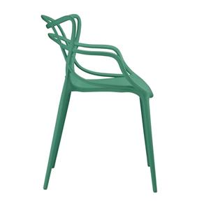 Kit 4 Cadeiras Allegra - VERDE