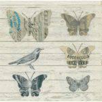 Guardanapo Decoração Borboletas e Pássaros Gua200250 - Toke e Crie
