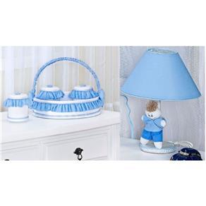 Kit Acessórios Meu Principe 05 Peças - Azul