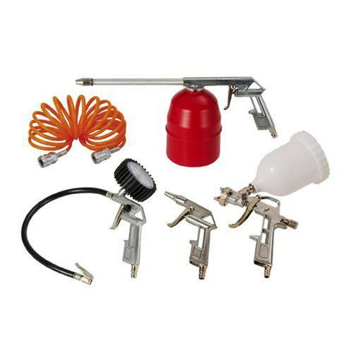 Kit Acessórios para Compressor de Ar com 5 Peças - 80910390 - SCHULZ