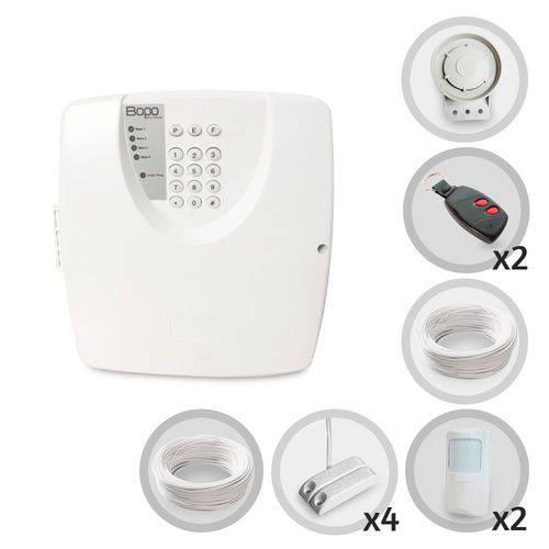 Tudo sobre 'Kit Alarme Residencial e Comercial Bopo 6 Sensores com Fio'