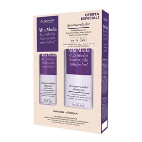 Kit Alta Moda Desamarelador Shampoo + Condicionador - 300 Ml
