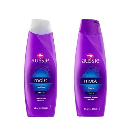 Kit Aussie Moist - Shampoo 400ml + Condicionador 400ml