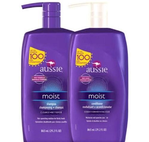Kit Aussie Moist Shampoo + Condicionador 778ml