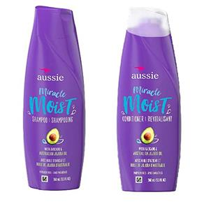 Kit Aussie Moist Shampoo e Condicionador 400ml