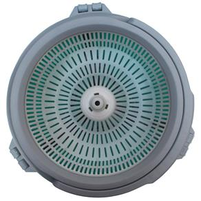 Kit Balde Spin Mop Centrifugador e Enxágue Redondo com 2 Refis Rotação 360 - Tssaper SP-510B