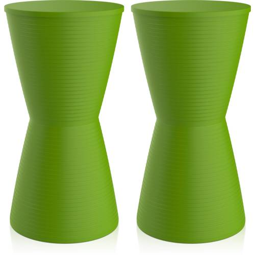 Kit 2 Banquetas Dub Color Verde