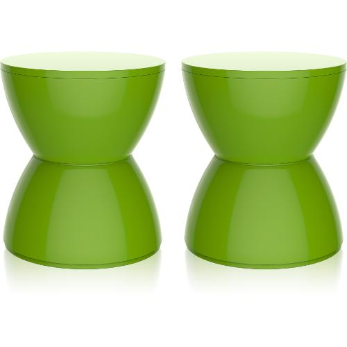 Kit 2 Banquetas Hydro Color Verde