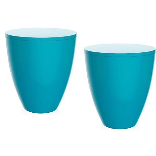 Kit 2 Banquetas Moly Color Azul I´M In