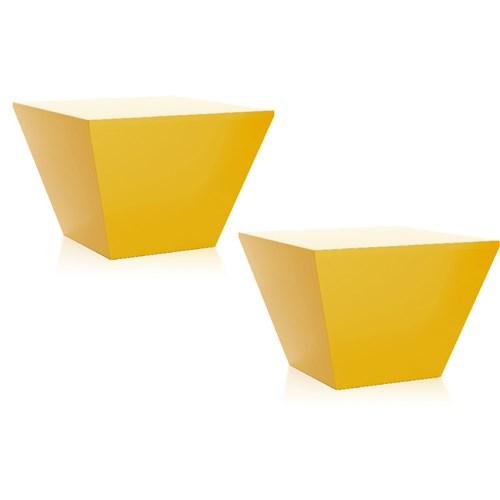 Kit 2 Banquetas Neo Color Amarelo I´M In