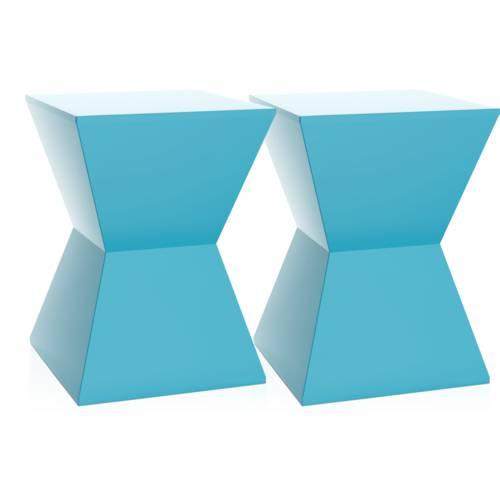Kit 2 Banquetas Nitro Color Azul