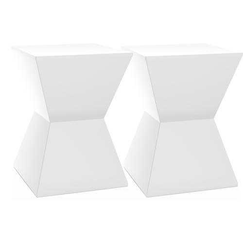 Kit 2 Banquetas Nitro Color Branco