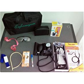 Kit Básico de Enfermagem Preto