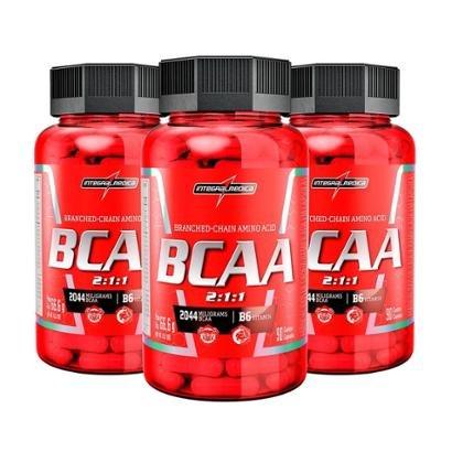 Kit Bcaa 3X (90 Cápsulas) Integralmédica