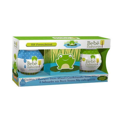 Tudo sobre 'Kit Bebê Natureza Shampoo + Condicionador + 2 Sabonetes'