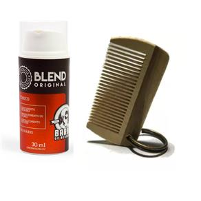 Kit Blend Barba de Respeito 30ml + Pente 6x3 Cm