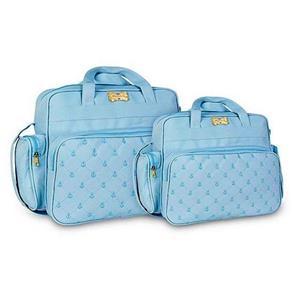 Tudo sobre 'Kit Bolsa Maternidade Azul Claro'
