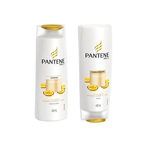 Kit C/ Shampoo + Condicionador Pantene Hidratação 400 Ml