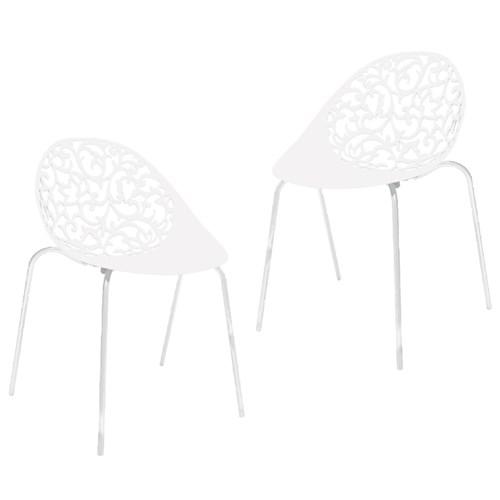 Kit 2 Cadeiras Fiorita Branco I´M In