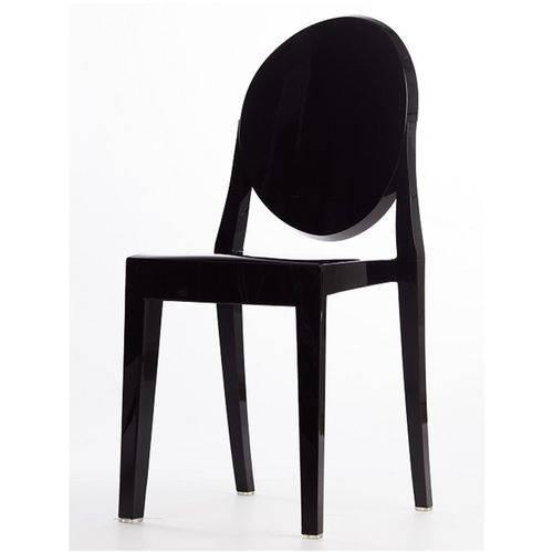 Kit 3 Cadeiras Ghost Sem Braço