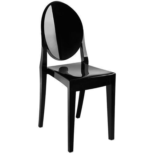 Kit 4 Cadeiras Ghost Sem Braço