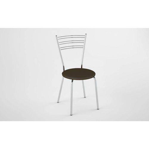 Kit 2 Cadeiras PC050021 Assento Cacau - Pozza