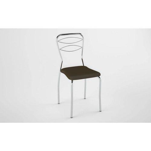 Kit 2 Cadeiras PC110021 Assento Cacau - Pozza