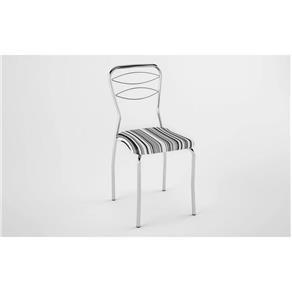 Kit 2 Cadeiras - PRETO