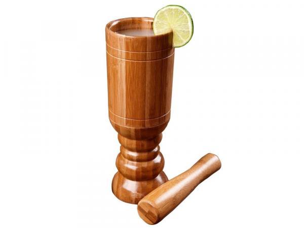 Kit Caipirinha Bamboo 2 Peças - Mor