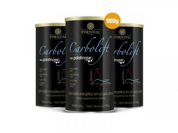 Kit - 3 Carbolift Palatinose Essential 900g - Essential Nutrition