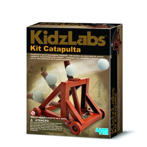 Tudo sobre 'Kit Catapulta - 4m - Brinquedo Educativo'