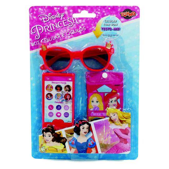 Tudo sobre 'Kit Celular e Óculos - Disney Princesas'