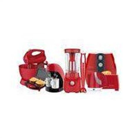 Kit Colors Vermelho Cozinha Completa Cadence - 110V