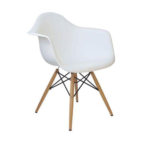 Kit com 4 Cadeiras Melbourne Branco
