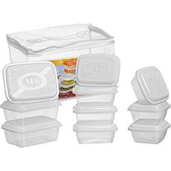 Kit Cozinha 10 Peças Branco - Plásticos MB