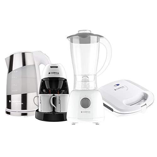 Kit Cozinha Branca Pratic Cadence - 220V